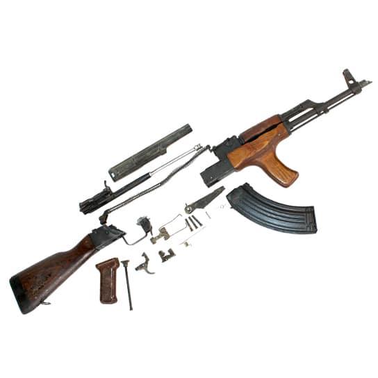 Romanian G / AK 47 Spare Parts Kits with Original Barrel