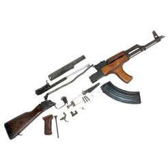 Romanian G / AK 47 Spare Parts Kits with Original Barrel
